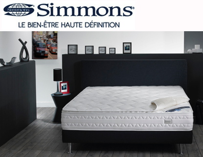 Matelas softclean simmons lexique et d finition - Matelas simmons collection quietude ...