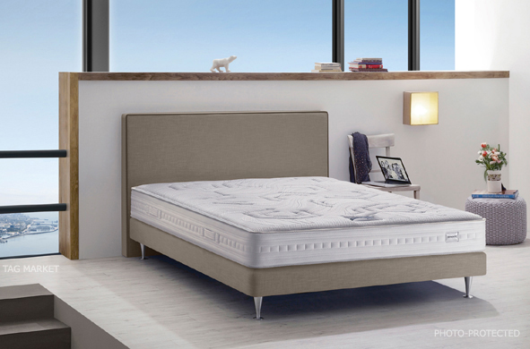 simmons literie ciel d ange matelas et sommier le meilleur. Black Bedroom Furniture Sets. Home Design Ideas