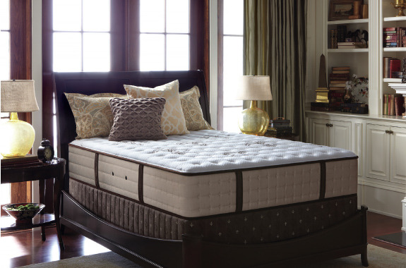 stearns et foster literie estate matelas et sommier le meilleur d. Black Bedroom Furniture Sets. Home Design Ideas