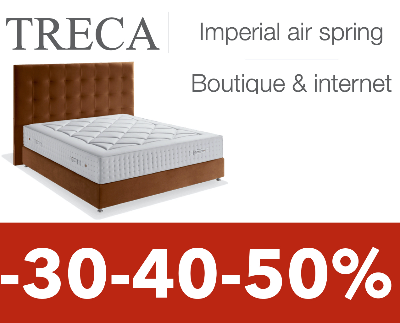 treca literie imperial air spring matelas et sommier le. Black Bedroom Furniture Sets. Home Design Ideas