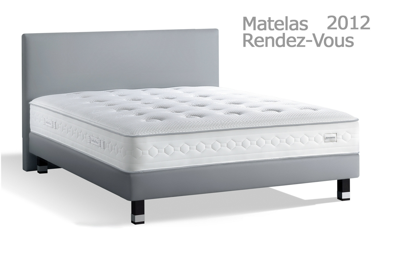 simmons rendez vous 2012 matelas fixes le meilleur de l. Black Bedroom Furniture Sets. Home Design Ideas